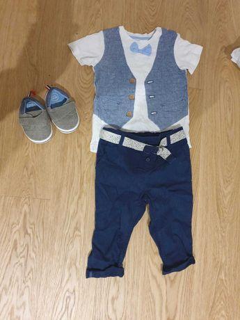Komplet H&M dla chłopca z bucikami!