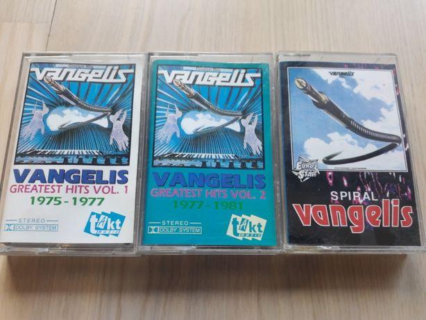 Vangelis - kasety magnetofonowe - Rydwany Ognia, Antarctica, Spiral
