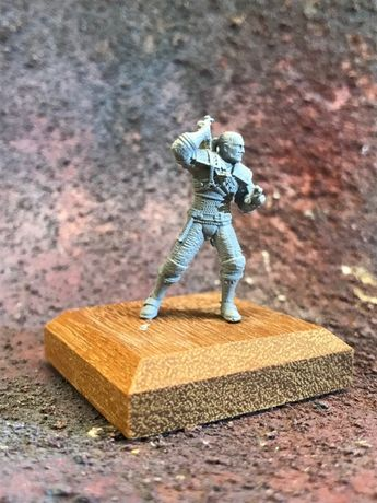 Figurka Wiedźmin Gerald Witcher żywica wydruk