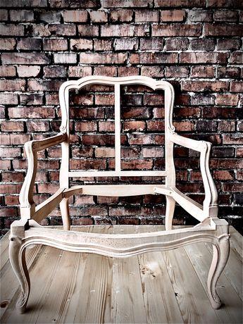 stylowy fotel rama-ostatnie sztuki !