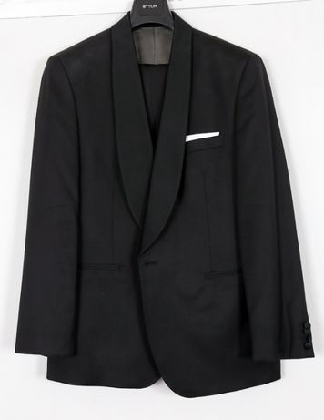 garnitur ślubny, smoking