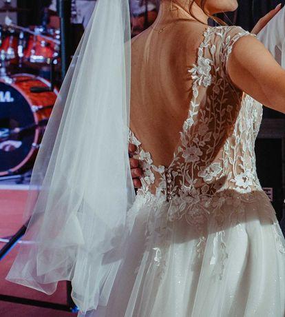 Sprzedam piękną, lekką suknię ślubną