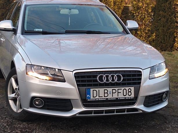 Audi A4 B8 2,0 TDi CR 143 KM Klima Grzane Fotele MMi ZAREJESTROWANY