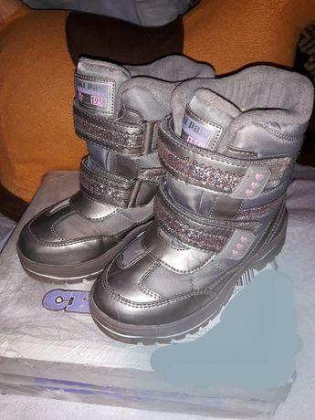 Термоботинки сапожки ботинки Сказка 19 см Weestep