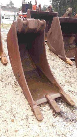 Balde Escavadora Giratória Akerman ou Volvo (70cm largura de trabalho)