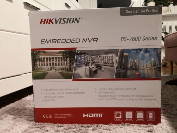 .: Rejestrator Hikvision DS-7608NI-K2/8P POE :. NOWY