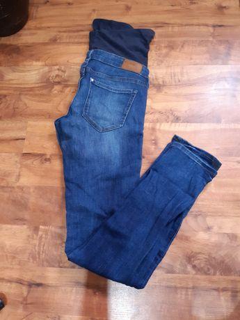 Jeansy ciążowe hm 36/S