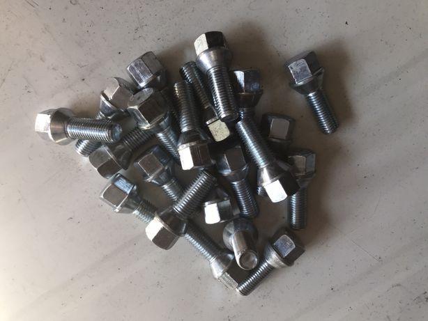 Śruba M12x1,5x28 Stożek komplet 20 sztuk