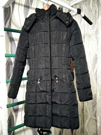 Зимний женский пуховик пальто