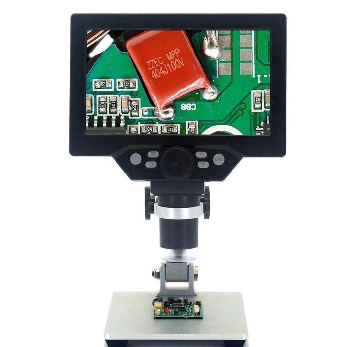 Mikroskop cyfrowy G1200 - x1200 12MP HD LCD 1080p Wrocław - image 1