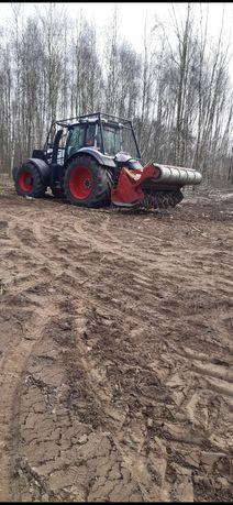 Mulczer leśny mulczowanie wycinka drzew karczowanie terenu rębak