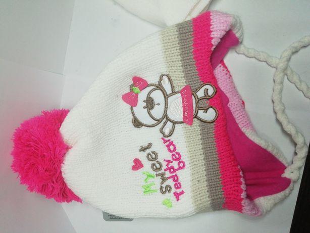 Дитяча зимова шапка+шарф