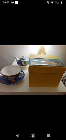 Conjunto chá Gato Preto