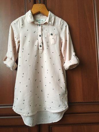 Платье рубашка H&M.