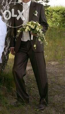 garnitur ślubny z dodatkami (cały strój do ślubu) 176/96