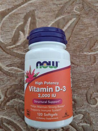 Vitamin D 3 Д3, фірми NOW для дорослих