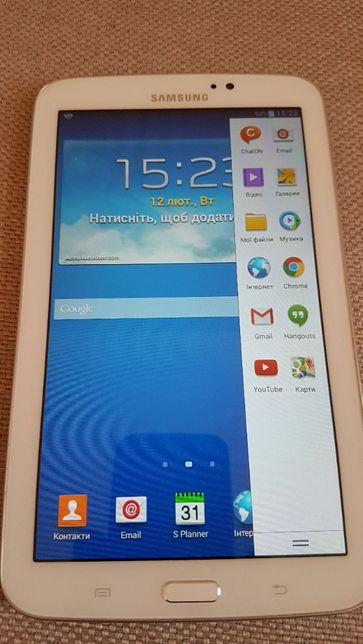 Планшет Samsung SM-T210 Wi Fi 8GB. ТОРГ.