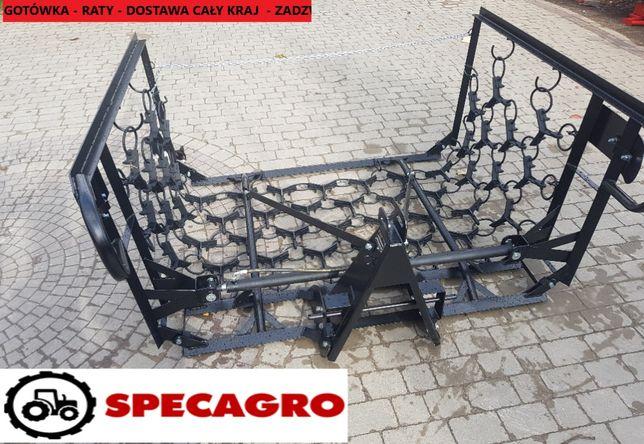 włóka włóki SECAGRO promocja Wzmocniona 4m 6m 5m 8m HIT