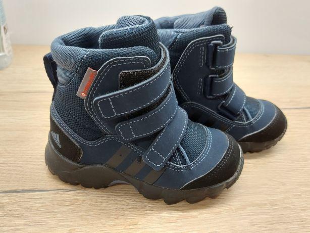 Buty zimowe śniegowce adidas r. 24