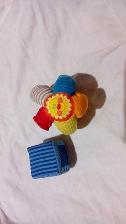 мягкие фирменные развивающие игрушки