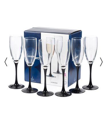 Набор бокалов для шампанского Luminarc Domino, 6*170 мл