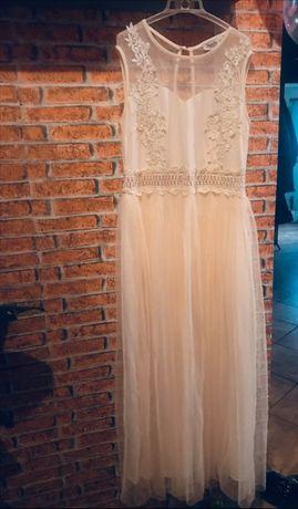 Suknia ślub cywilny chrzest komunia