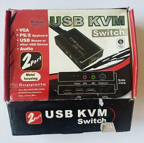 usb kvm switch (новый)
