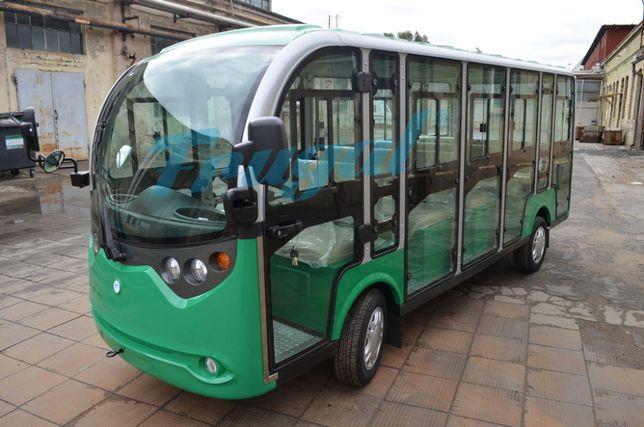 Pojazd elektryczny 14 os. Turystyczny, Pasażerski, FRUGAL, nie melex