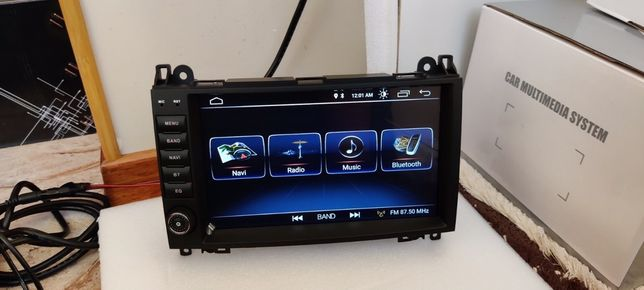 Магнітола мерседес спрінтер. Android 10 2-4/16-64g IPS GPS Navi Wi-Fi