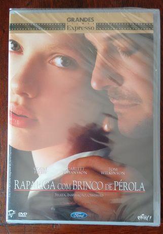 """Filme DVD """"Rapariga com Brinco de Pérola"""" (Selado)"""