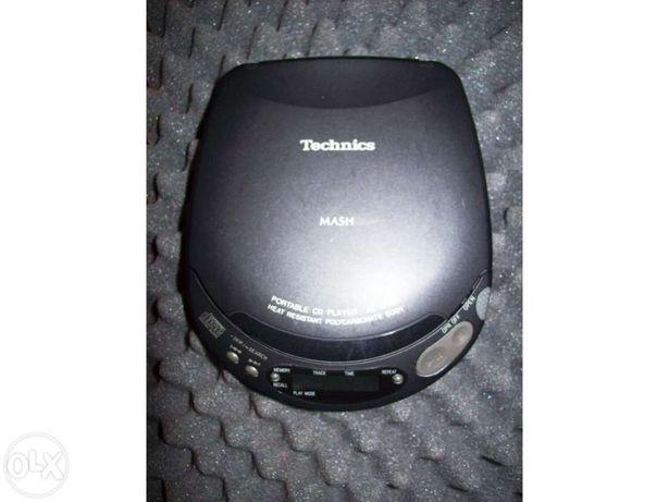 Leitor de cds technics sl-xp160- Vintage 92'