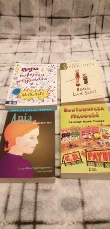 Zestaw 4 książek dla dzieci młodzieży liczone po 10zl sztuka Polecam