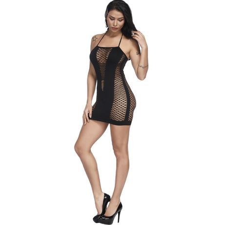#23 Seksowna sukienka nocna - S/L
