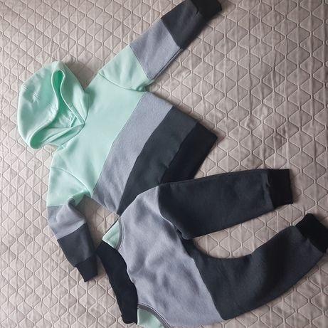 Bluza i spodnie komplet dresowy nowe hand made