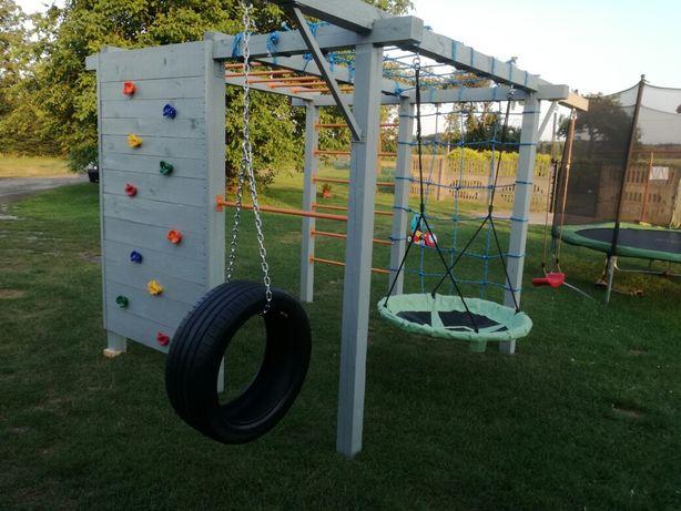 Małpi Gaj dla dzieci plac zabaw solidna konstrukcja , transport