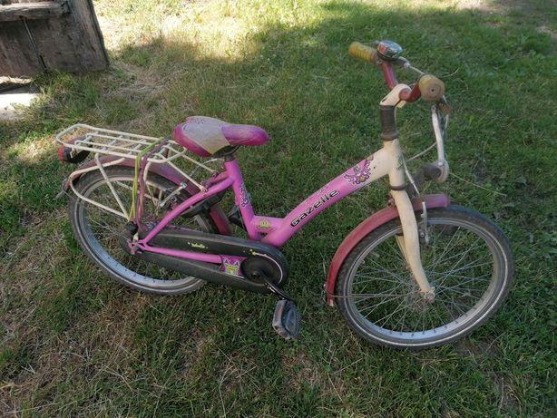 Rower dziewczęcy gazella