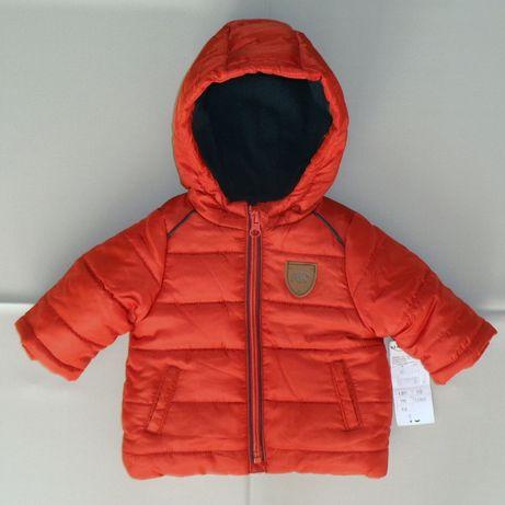 KIABI куртка демисезонная курточка на новорожденного малыша 3 м./56-62