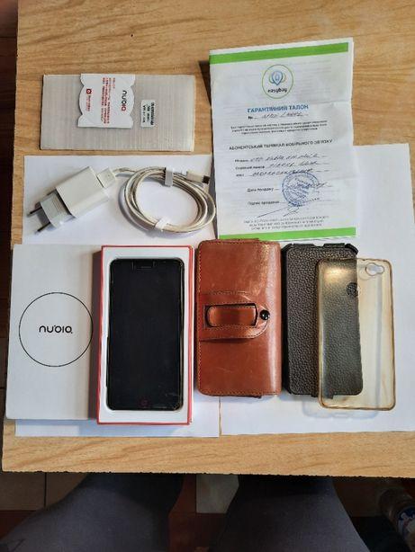 Телефон ZTE Nubia Z11 mini S 64GB (Black Gold)