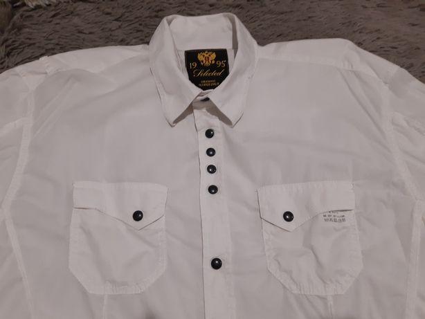 Koszula biała męska L-XL