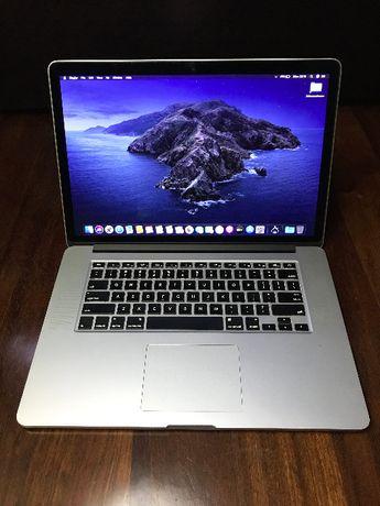 """MacBook Pro 15"""" Retina (A1398) i7 / 16GB Ram/ 512GB - Com Garantia"""