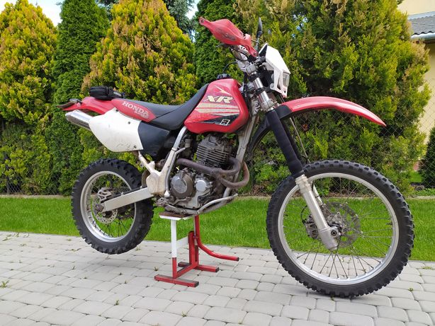 Honda XR 400 homologacja
