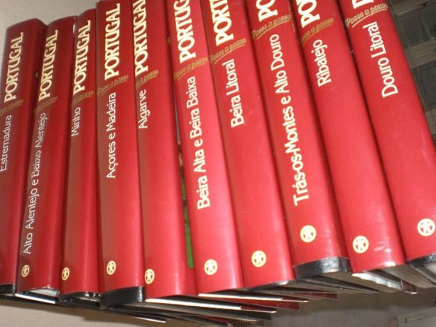 Livros coleção Portugal passo a passo