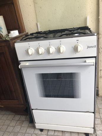 Fogão junex com forno gás butano