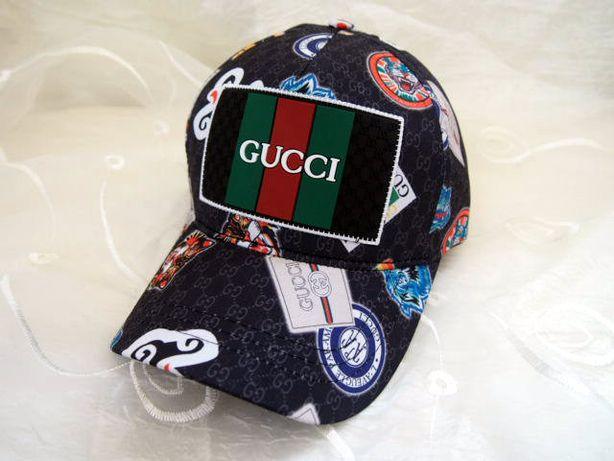 (BRAK)Wielokolorowa czapka Gucci czapka z daszkiem bejsbolówka HIT