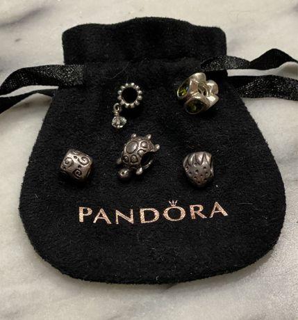Contas Pandora em prata