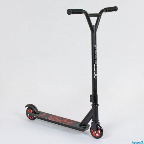Трюковой Самокат scooter для трюков с алюминиевыми дисками