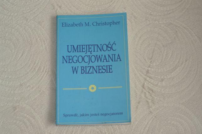 Umiejętność negocjowania w biznesie Elizabeth M. i