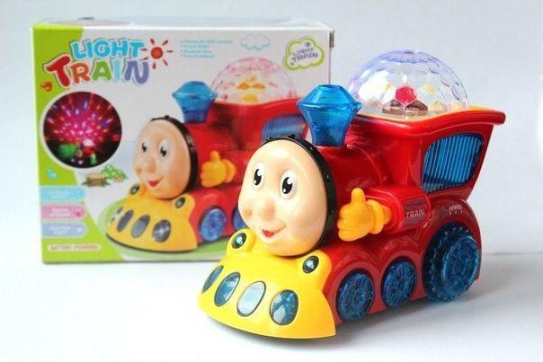 Проектор Паровозик Томас Light train.Поезд.