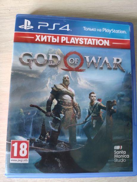 Игра God 0f War PS4