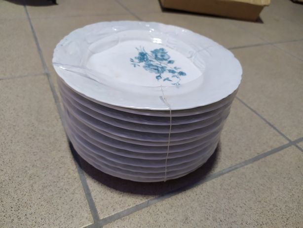 Conjunto pratos porcelana vintage (novo)